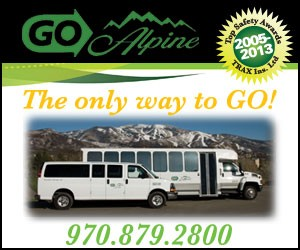 Go Alpine : Airport Shuttle, taxi, and charter service.