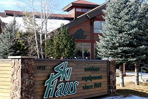 Ski Haus :: Voted 'Best of the Boat' by Steamboat locals! Full service outdoor shop with expert advice and top notch customer service! Rentals, Sales, & Service. Come in and see us today!