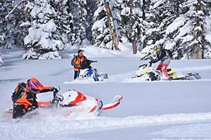 Rocky Mountain Sled Rentals - guided & unguided