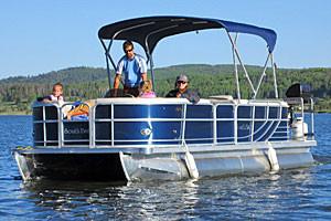 Steamboat Lake Marina - Boat Rentals
