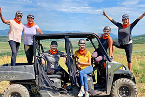 Guided ATV Tour on Private Bison Ranch