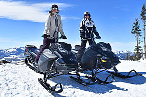 Rocky Mountain Sled Rentals - tours on the forest