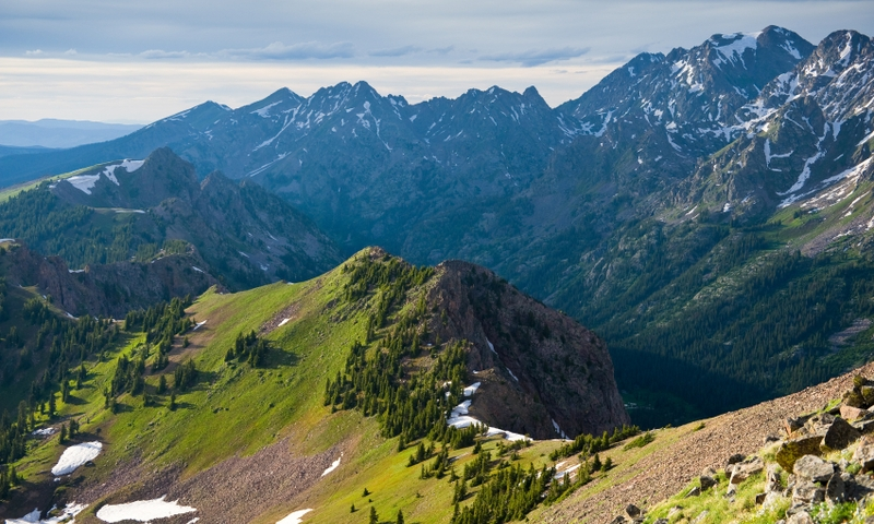 The Gore Range in Eagle's Nest Wilderness