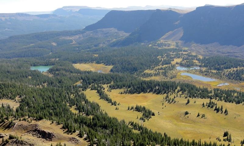 Flat Tops Wilderness Area In Colorado Alltrips