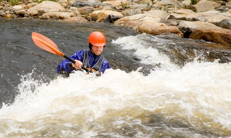 Kayaking Whitewater Yampa River Steamboat Springs Colorado