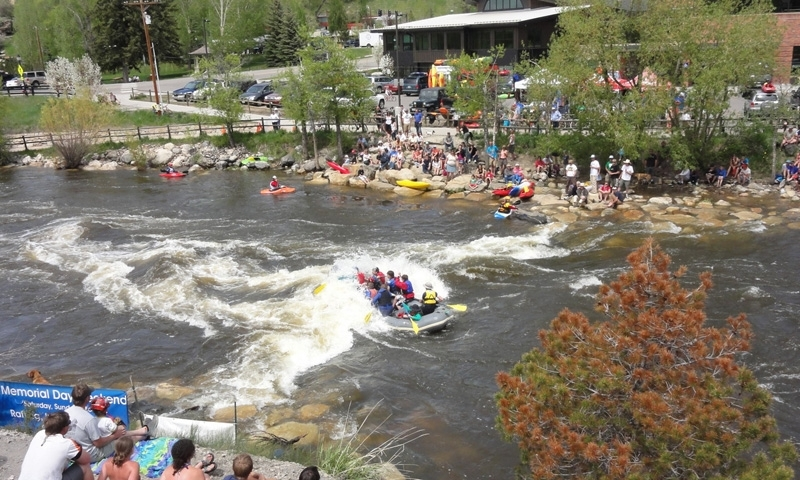 Rafting in the Yampa River Festival in Steamboat Springs