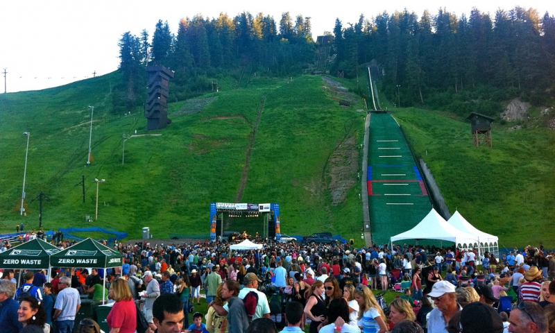 Free Summer Concerts at Howelsen Hill in Steamboat