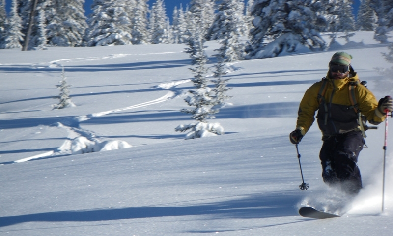 Steamboat Springs Colorado Backcountry Telemark Skiing