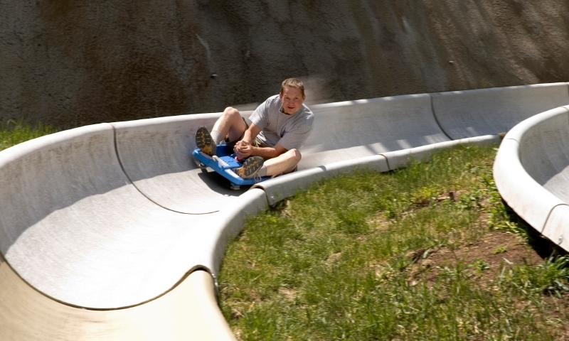 Alpine Slide Howelsen Hill Steamboat Springs Colorado
