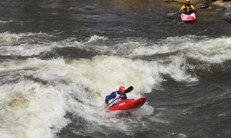 Yampa River Festival Kayaking Steamboat Springs