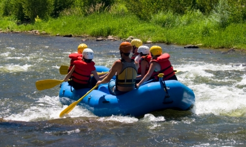 Steamboat Springs White Water Rafting