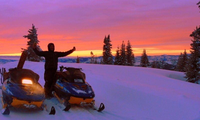 Steamboat Springs Snowmobiling