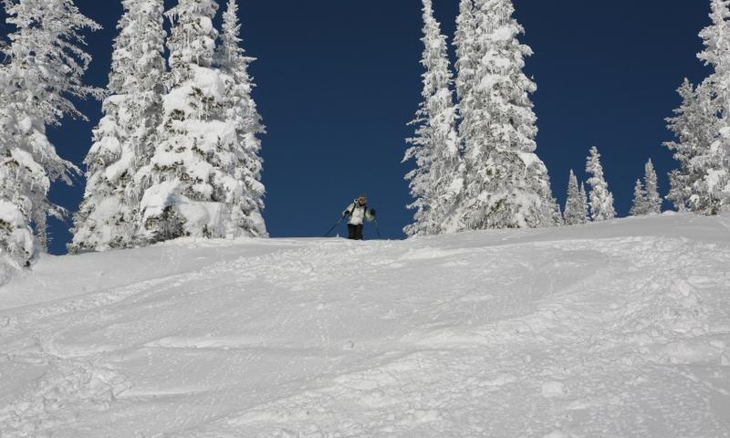 Skiing at Steamboat